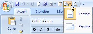 Ajouter un outil à la barre d'outils accès rapide - Office 2007-2010