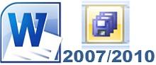 Enregistrer simultanément tous les documents ouverts - word 2007-2010