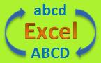 Majuscules et minuscules dans Excel